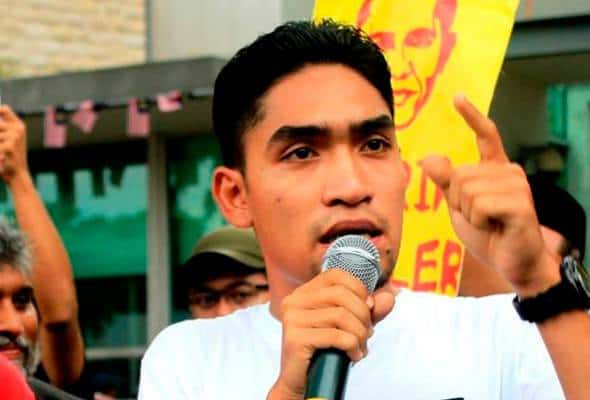 Hina institusi Diraja: Ketua Pemuda PSM Khalid Ismath ditahan