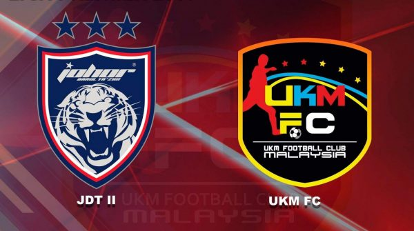 UKM FC, JDT ii bakal berentap pada final Piala Cabaran
