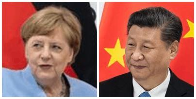 Presiden Xi adakan pertemuan dengan Canselor Jerman Angela Merkel