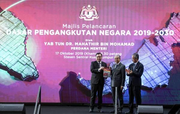Sistem pengangkutan mampan pacu pertumbuhan negara – Mahathir
