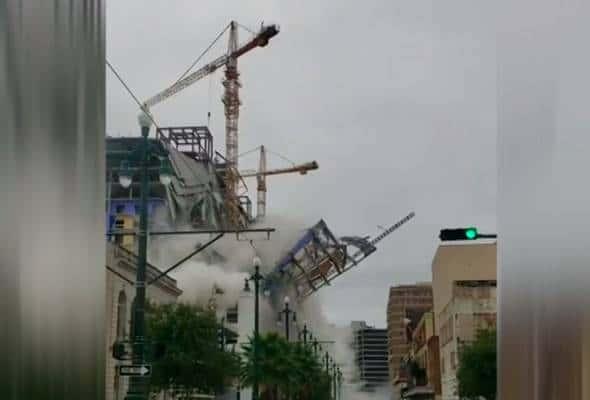 Runtuhan di tapak pembinaan hotel Hard Rock, 1 maut