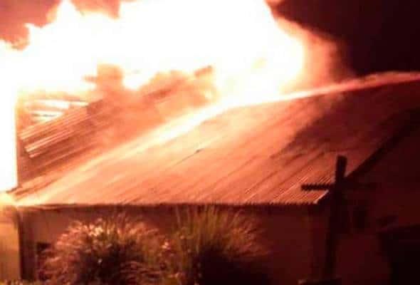 13 rumah di Kampung Baru Cina Benta musnah dalam kebakaran