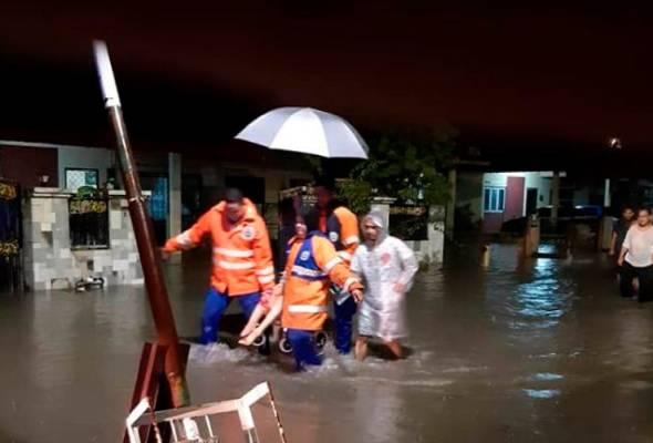 PPS Dewan Orang Ramai di Kampung Sungai Rokam ditutup