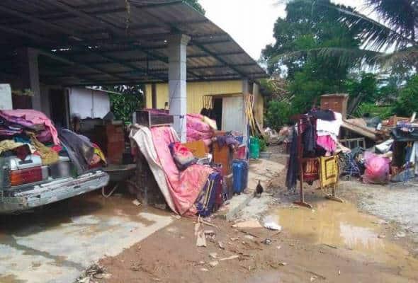 Jumlah mangsa banjir berkurangan di Perak