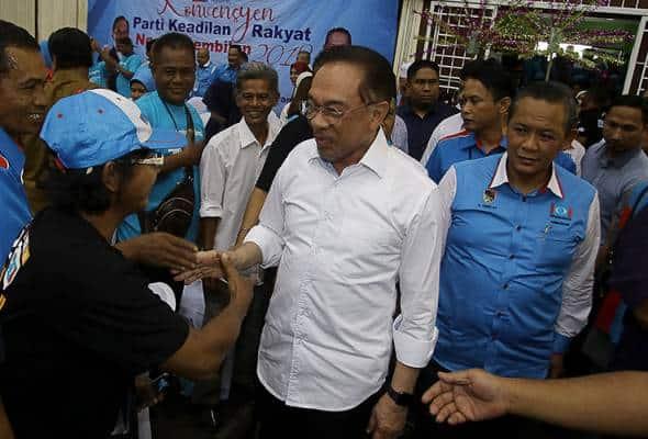 Rakyat nilai prestasi kepimpinan PH, cabaran PRK Parlimen Tanjung Piai – Anwar
