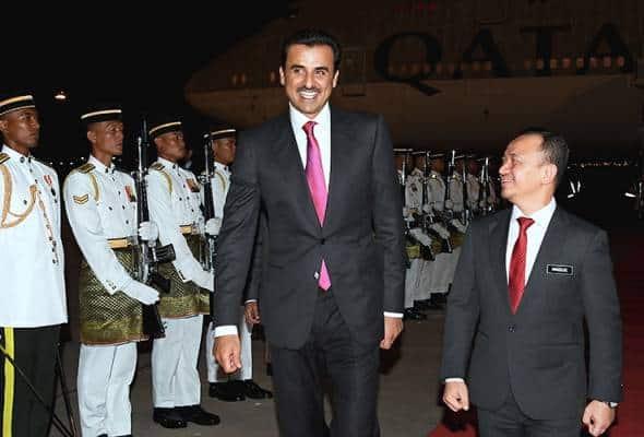 Emir Qatar tiba untuk Sidang Kemuncak KL 2019