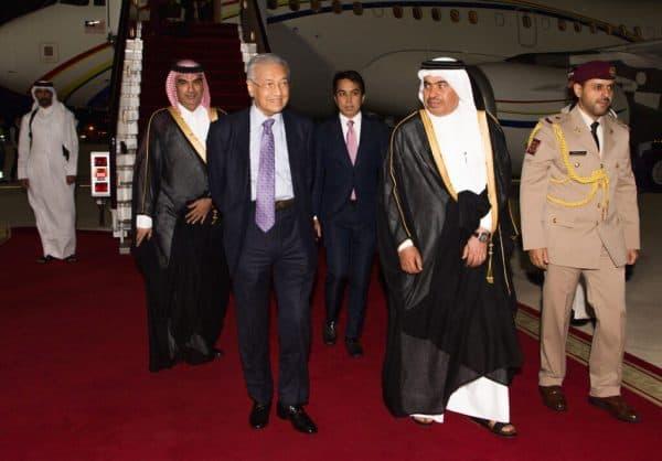 PM tiba di Doha untuk lawatan rasmi empat hari