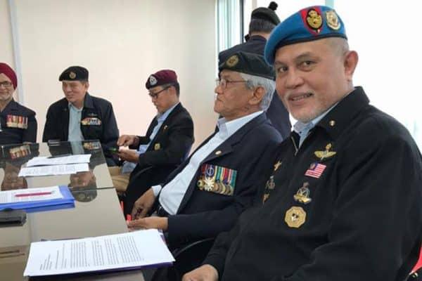 Gabungan persatuan-persatuan veteran ATM ditubuh
