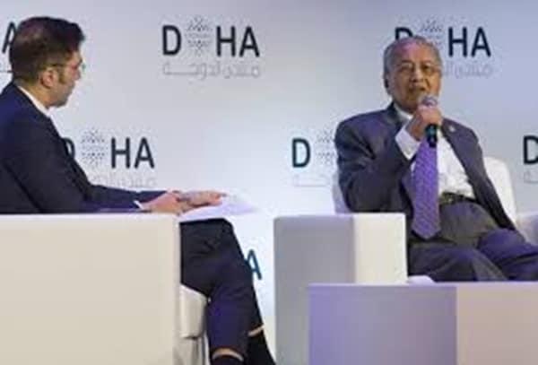 Dr Mahathir terima Anugerah Forum Doha
