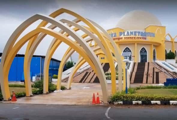 Planetarium dinaik taraf sebagai pusat setempat pelancongan Melaka