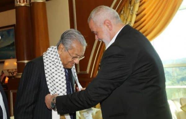 Dr Mahathir terima kunjungan hormat pemimpin Hamas Ismail Haniyeh