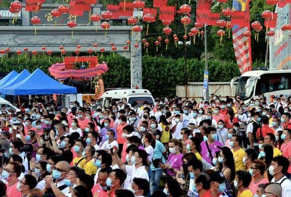 Festival Chingay disambut sederhana ekoran COVID-19