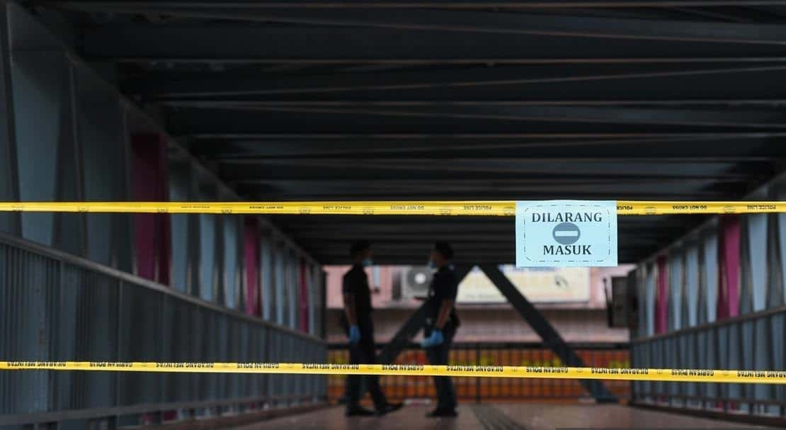 COVID-19 – PKPD di Menara City One, Jalan Munshi Abdullah