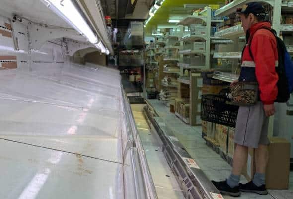 Pembelian panik di Tokyo selepas Gabenor umum perintah kawalan pergerakan
