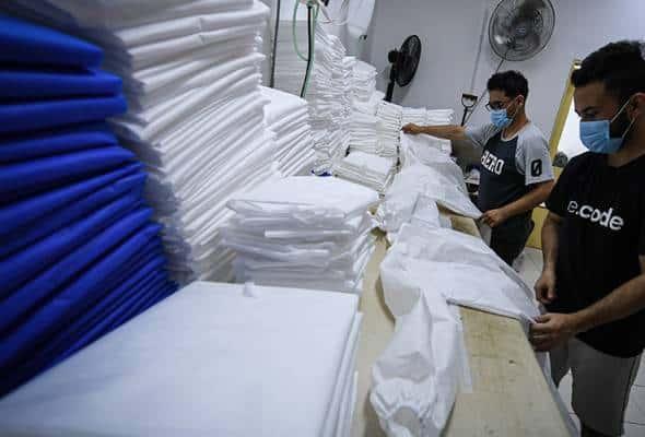 Pengilang Malaysia mampu hasilkan 5 juta set PPE dalam tempoh sebulan
