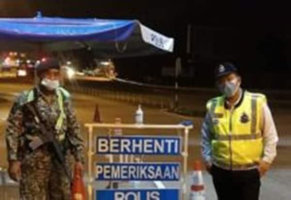 PKPP: Sekatan jalan raya rentas negeri dihentikan mulai tengah malam