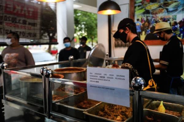 Tidak patuh SOP: 107 premis makanan dikompaun di Terengganu