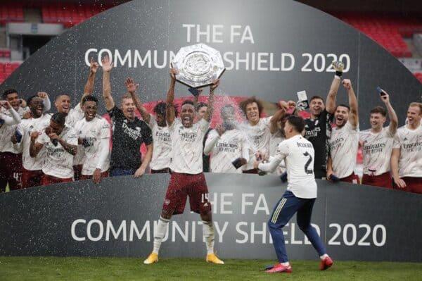 Arsenal juara Perisai Komuniti