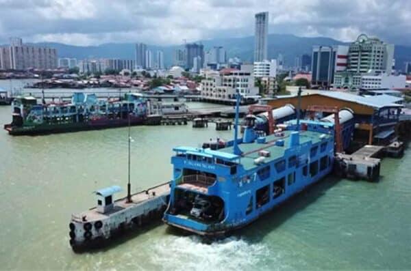 Perkhidmatan feri di P. Pinang dijangka pulih sepenuhnya Khamis ini
