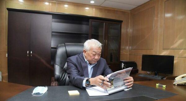 Bung Moktar mulakan tugas rasmi di Kementerian Kerja Raya
