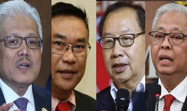 Ismail Sabri, Hamzah Zainuddin antara empat penerima darjah kebesaran tertinggi Sabah
