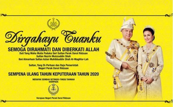Istiadat Penganugerahan Darjah Kebesaran Negeri Perak ditangguhkan