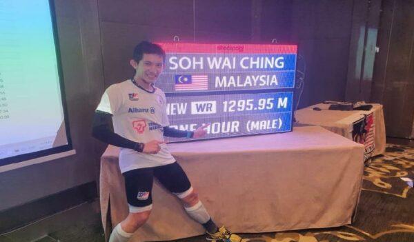 Pelari menara no. 1 Malaysia selesai cubaan catat Guinness World Records, tunggu keputusan rasmi