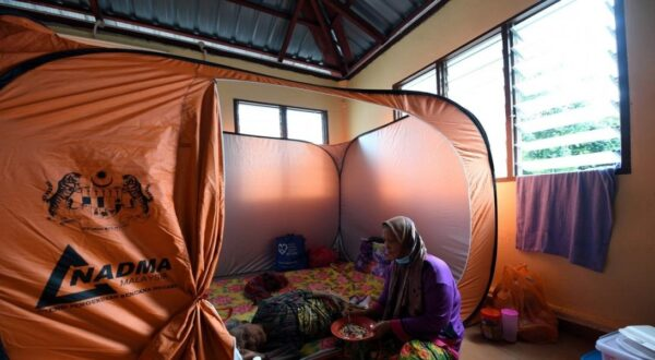 Increase in flood evacuees in Kelantan, Terengganu