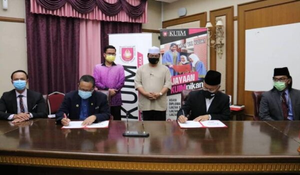 KUIM forges smart partnership with seven agencies in Melaka