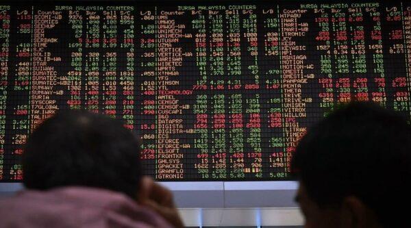 Bursa Malaysia alami penurunan, didahului oleh kaunter tenaga, perladangan