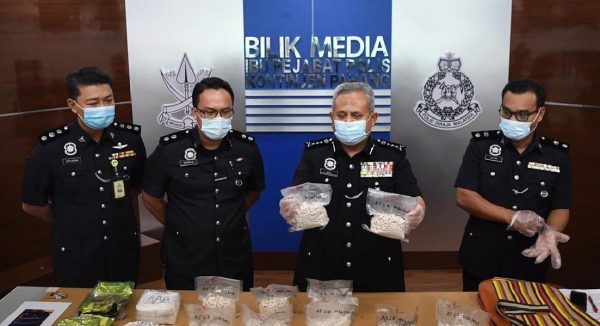 Two lorry drivers detained, drugs worth RM152,792 seized