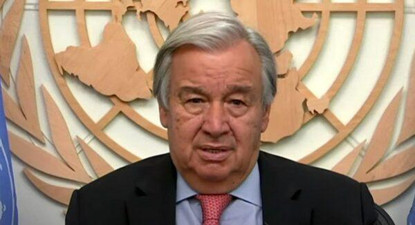 UN chief Guterres seeking 2nd term in office