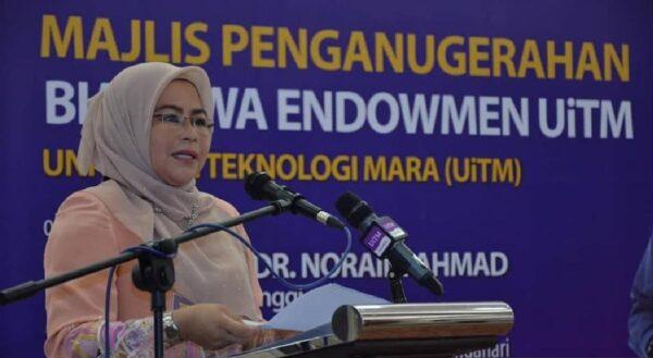 MKN luluskan pelajar IPT ke kampus seawal 1 Mac 2021 – Noraini Ahmad