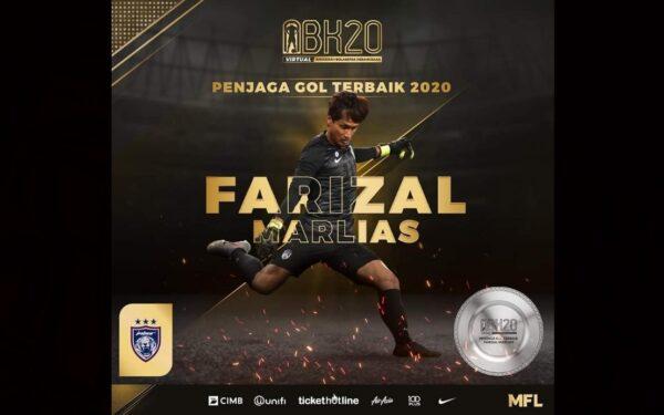 Gelaran kelima Penjaga Gol Terbaik suntik semangat Farizal Marlias
