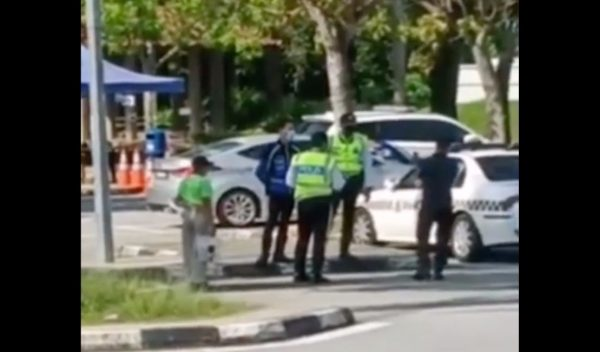 Man on viral video not under quarantine – police