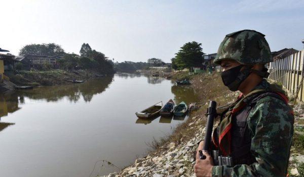 COVID : Thailand perketat kawalan di sempadan Thailand-Malaysia