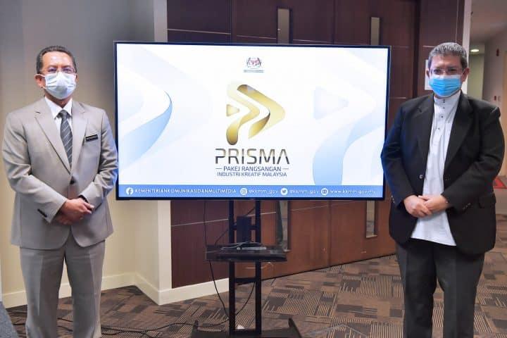 Pakej Rangsangan Industri Kreatif Malaysia (PRISMA) dilancar oleh Datuk Saifuddin Abdullah