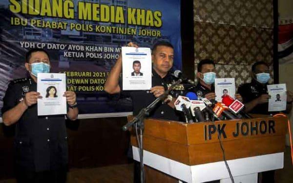 Polis Johor rampas pelbagai dadah bernilai RM5.06 juta
