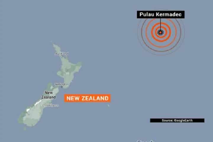 Gempa bumi kuat sekali lagi gegar Kepulauan Kermadec