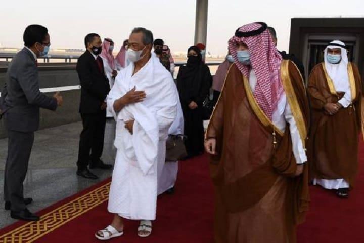 Perdana Menteri tiba di Mekah untuk ibadah umrah