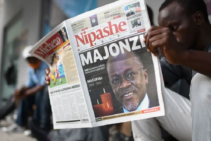 Presiden Tanzania meninggal dunia pada usia 61 tahun