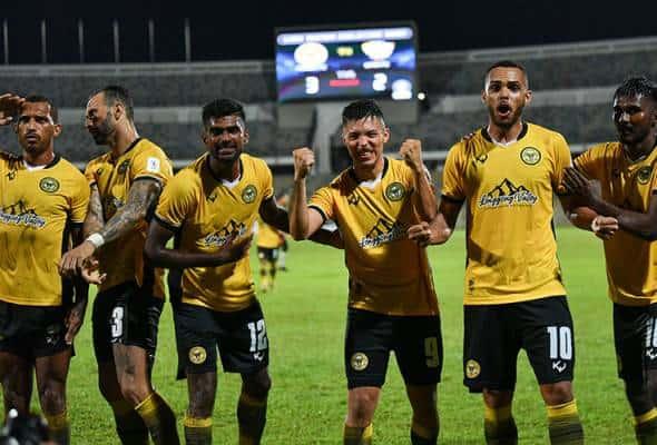 Perak bangkit untuk benam UiTM FC 3-2