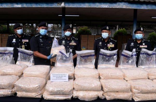 JSJN rampas dadah pil Captagon bernilai lebih RM221 juta