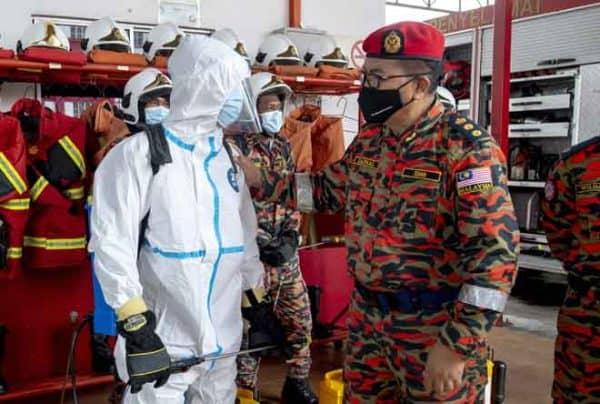 Pasukan HAZMAT Kelantan paling banyak kendali pengebumian jenazah pesakit COVID-19