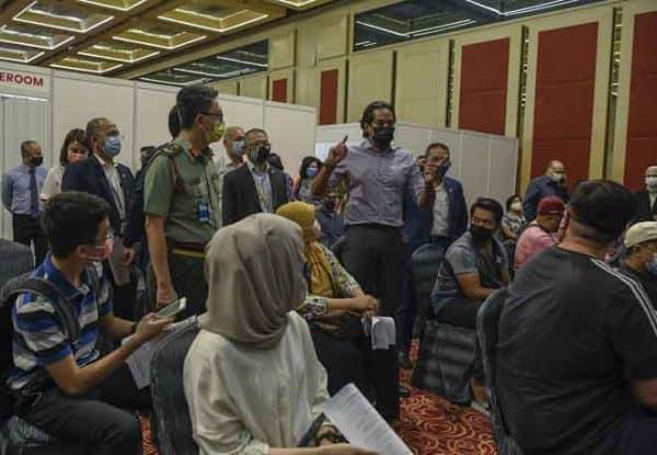 Lebih banyak PPV mega akan dibuka untuk beri vaksin: Khairy