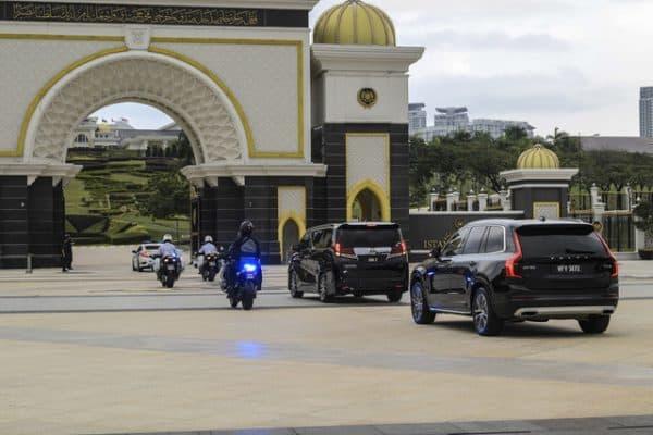 PM menghadap Agong di Istana Negara