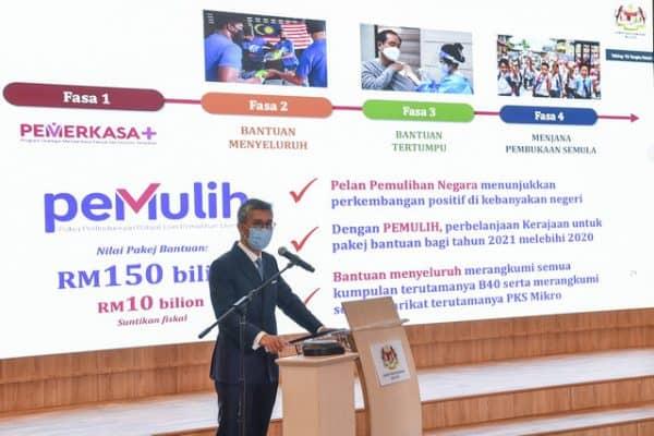 Bank tidak kenakan faedah terkompaun, caj lewat bayar moratorium – Tengku Zafrul