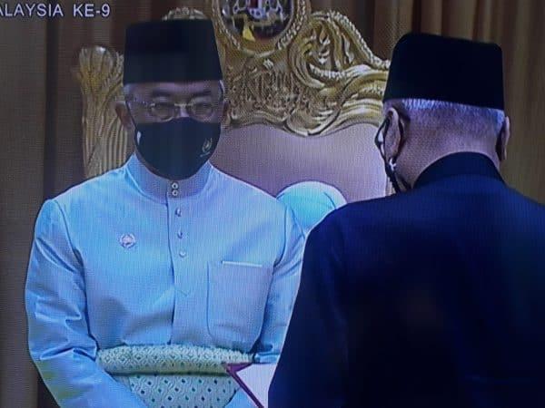 Ismail Sabri angkat sumpah Perdana Menteri Kesembilan