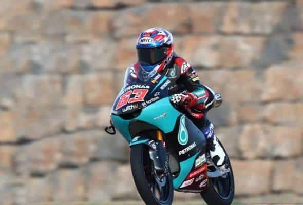 Aksi sulung Damok di GP Aragon mengagumkan